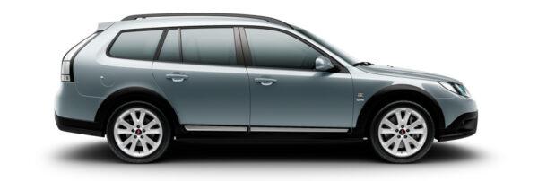 Saab 9-3x Griffin glacier silver metallic