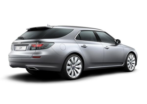 Elegant: Der neue Saab 9-5 SportCombi