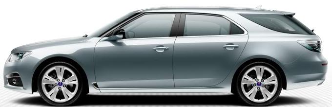 "Saab 9 5 SportCombi, 8,0 x 18 ""-metallfälgar, 5 talade design"" Carve ""(ALU 102)"