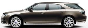 Saab 9-5 SportCombi, Oak Brown