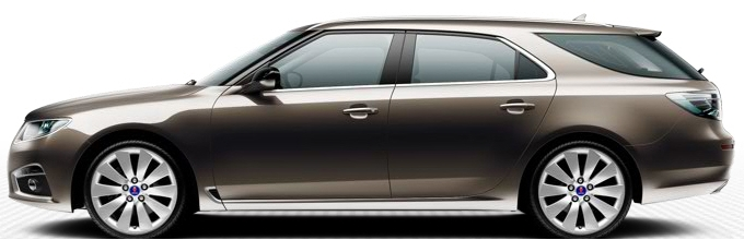 Saab 9-5 SportCombi, Oak Brown