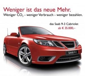Saab 9-3 Griffin Cabriolet, reklamkampanj av Saab Austria