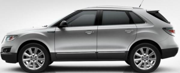 Saab 9-4x Diamond Silver Metallic