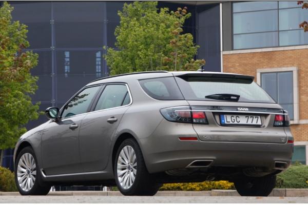 Der neue Saab 9-5 SportCombi