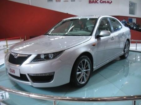 Parentes Saab da China - BAIC C60