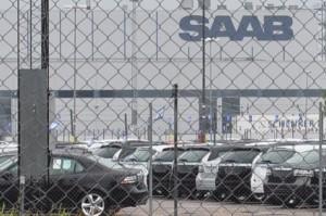 Trollhättan: Productiestop bij Saab gaat verder.