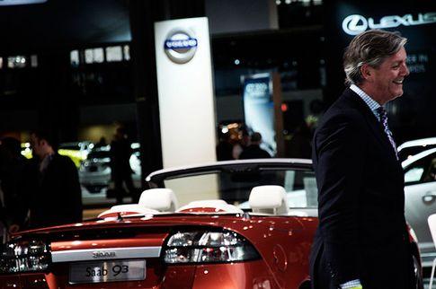 Victor Muller, New York Autosshow, Bild: Daniel Kederstedt