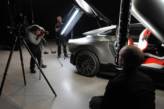 Wie das perfekte Foto entsteht, Saab PhoeniX Concept