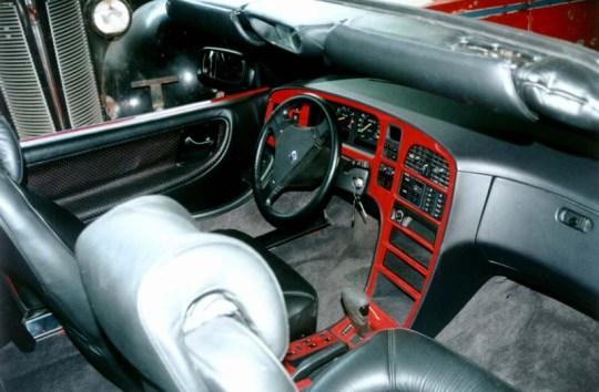 Saab 9000 Cabriolet, Innenraum