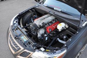 Saab 9-3 mit V10 Motor