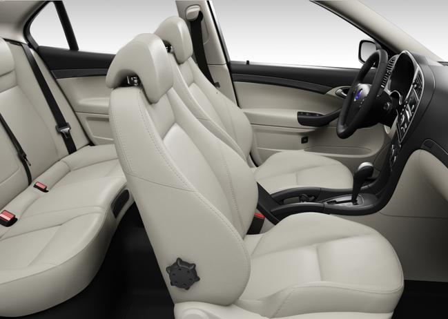 Saab 9-3 Griffin, Premium Sportsitze Semi-Anilinleder, sandbeige