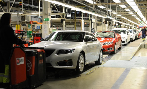 27. Mai 2011 Die Saab Produktion läuft !