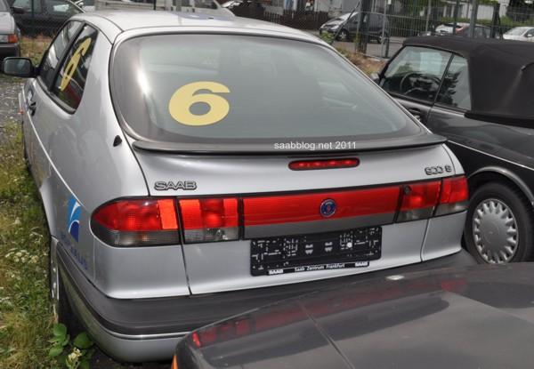 Nummer 6 lebt ! Der Saab 900i Talladega steht in Deutschland