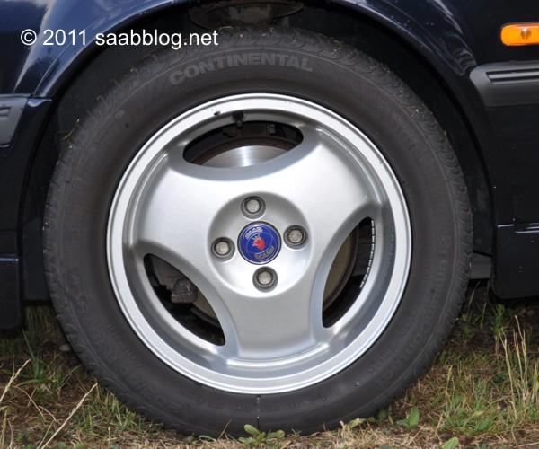 """Saab 9000 CSE liga rodas, 16 """""""