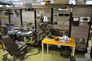 Integração Elétrica Saab. Foto: Steven Wade / Inside Saab