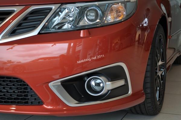 """Saab 9-3 """"Independence Day Edition"""", neue Front der Griffin Aero Baureihe"""