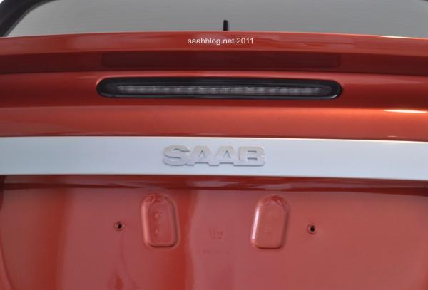 """Saab 9-3 """"Independence Day Edition"""" Saab Schriftzug jetzt in der Chromleiste am Heck"""