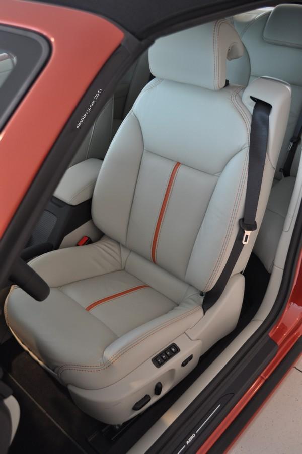 "Saab 9-3 Cabriolet ""Independence Day Edition"" Bicolor Ledersitz, elektrisch mit Memory"