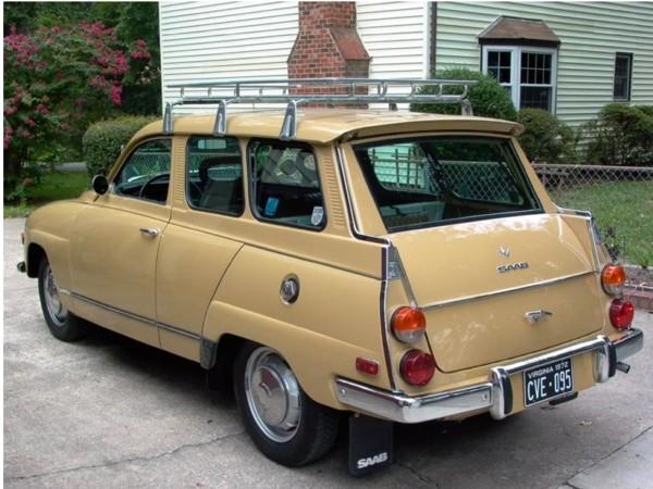 Saab 95, ano 1972