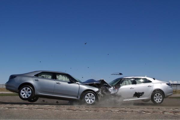 Saab 9-5 Crashtest