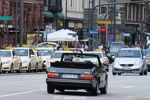 Roccaforte di Saab Amburgo, Saab 900