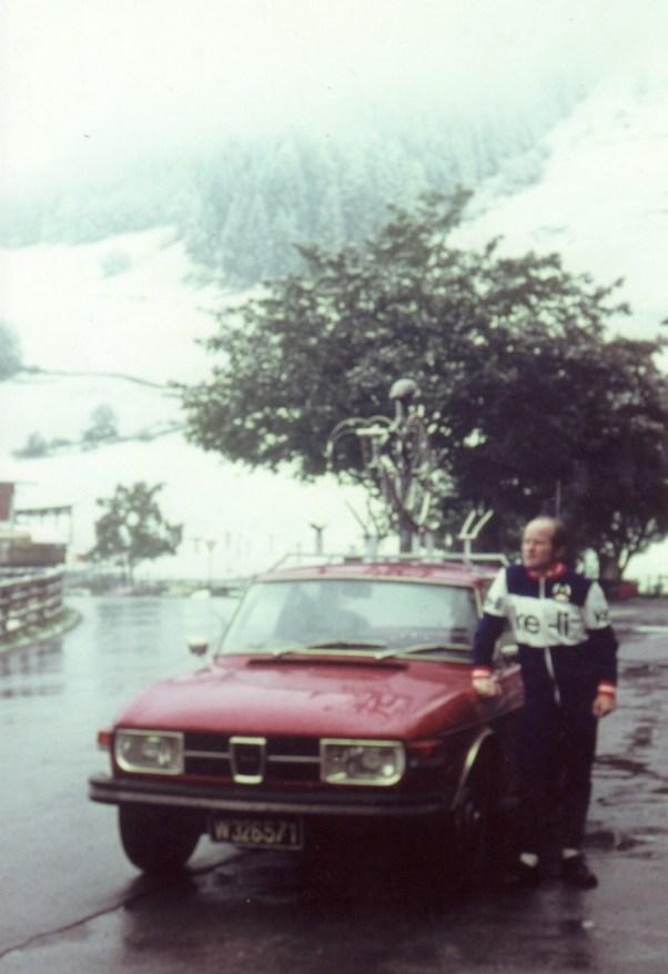 Saab Fan Jost mit Saab 99