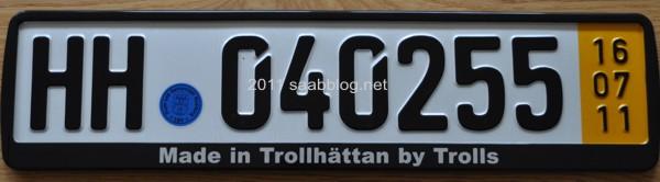 """Made in Trollhattan by Trolls"""