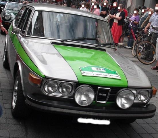 Saab 99 EMS, Baujahr 1976