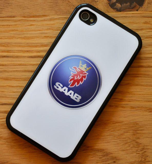 Das Saab iPhone. Saab Cover für iPhone 4.