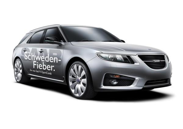 """Sugestão de Wolfgang, fato esportivo Saab 9-5 """"Sweden Fever"""""""