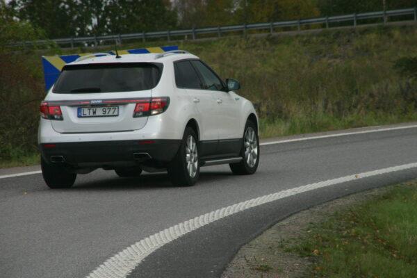 Saab 9-4x i Trollhattan