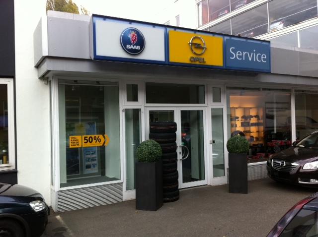 Unsere Saab Adresse in Hamburg, Lensch & Bleck