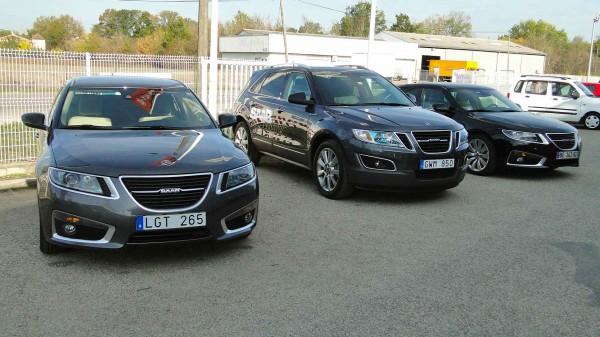 Saab 9-5 sedan e station wagon, Saab 9-4x