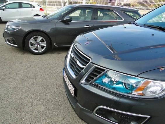 Saab 9-5 och Saab 9-4x
