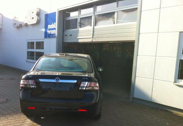 Neue Saab 9-3 TID Limousine