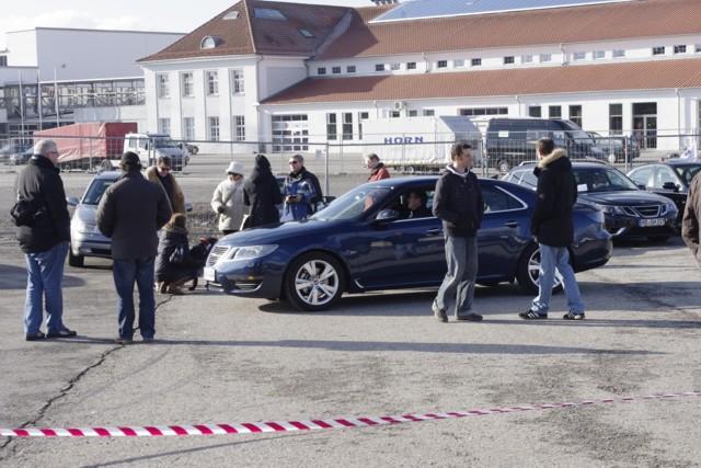 Neuer Saab 9-5 in Stuttgart