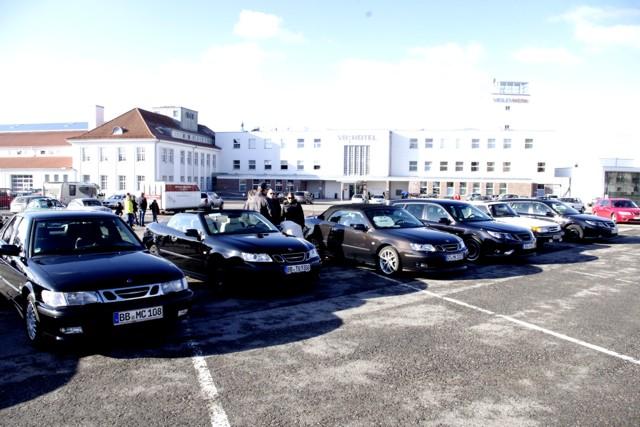 Outside Saab Meeting Stuttgart