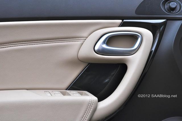 Türverkleidung Saab 9-5, Aero Trim, Modelljahr 2012