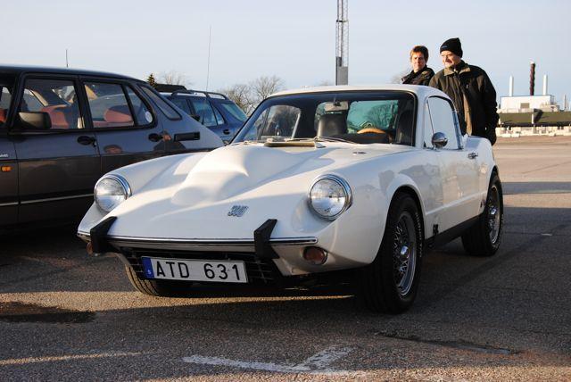 Trollhättan Saab, Saab Sonett vid mötet utanför Saab
