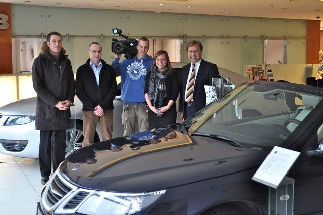 Die Vox Crew, Masoud Etehad, Blogger und der grösste Saab Fan...