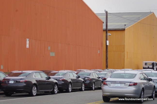 """Saab 9-5 in Newark, Foto by """"Found our own Road"""""""