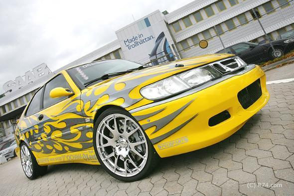 Johansson Saab Xnumx-Xnumx - Fotos por Trollspeed