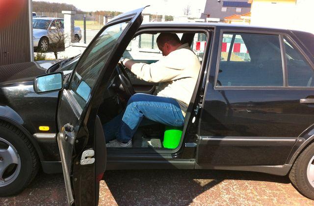 Achim escolhe o verde ... Uma nova experiência de condução!