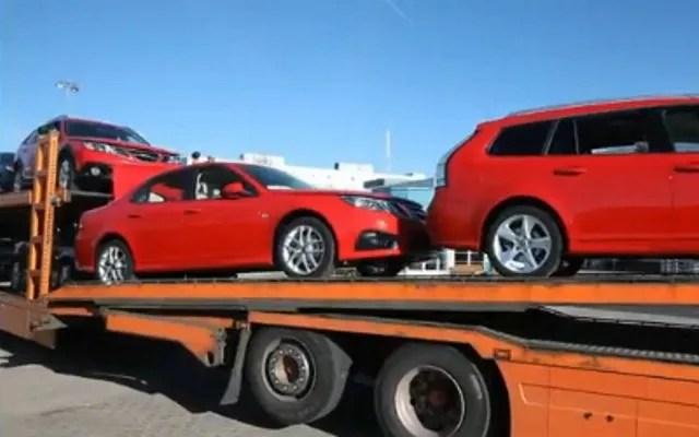Los últimos Saab son tomados de la fábrica
