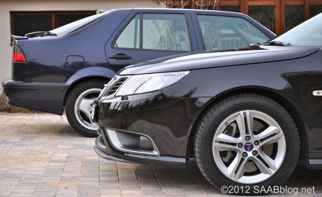 Saab Turbo X se encuentra con Saab 9000