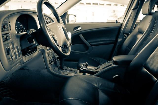 Saab 9 5 Arc 2002, binnenkant