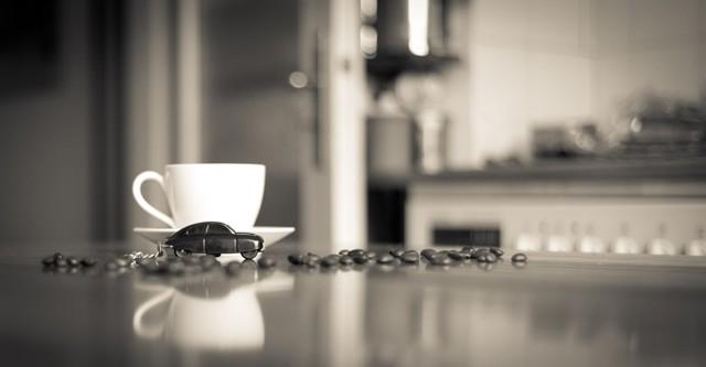 Espresso ... na de fotosessie
