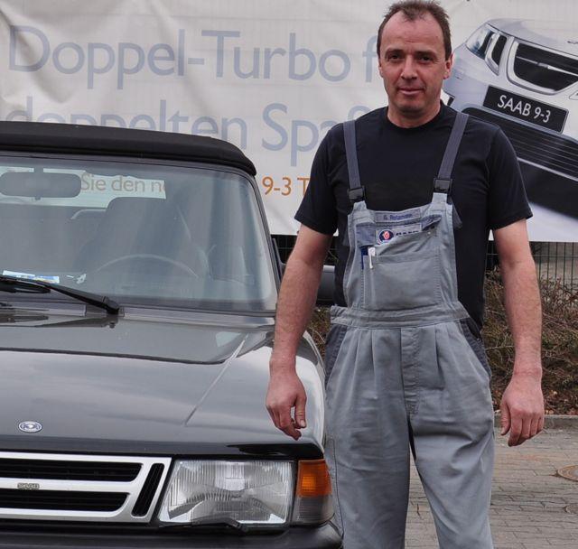 Gerard Ratzmann, Saab Service Frankfurt