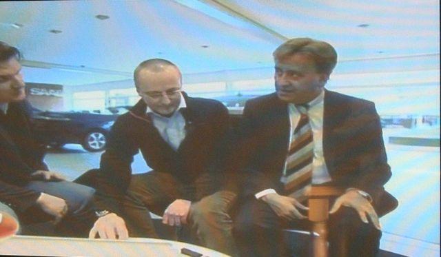 Mark Wegewitz, Tom Knecht e Masoud Etehad in Vox Auto Mobil