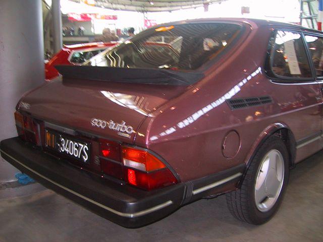 Saab 900 Turbo Power de Heuschmid en el Messe Stuttgart ...